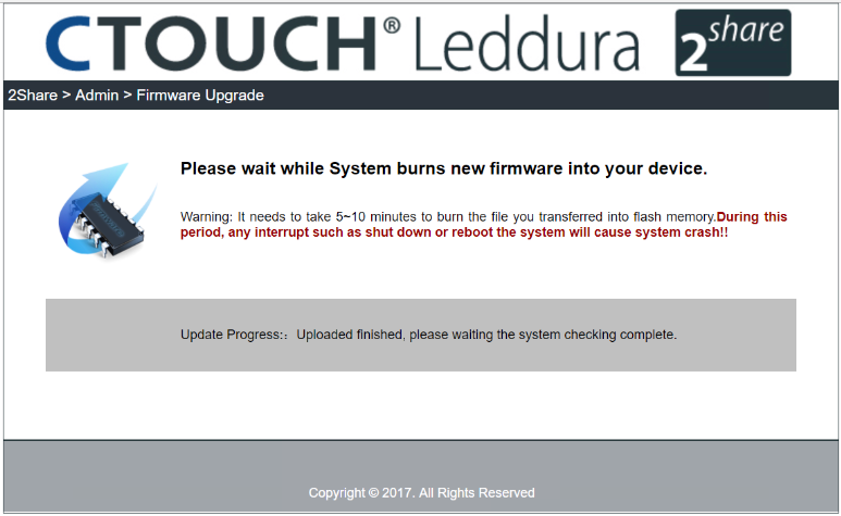 How can I update the Leddura 2Share? – CTOUCH Help Center